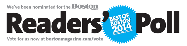 Best of Boston Readers Poll 2014
