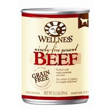 Wellness 95% Beef Can Pet Food Recall
